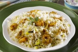Malabari Shrimp Biriyani
